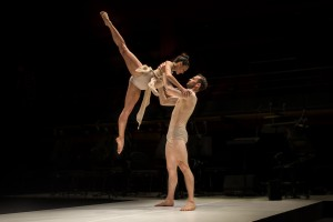 (1) Sydney Dance Company's Les Illuminations featuring Janessa Dufty and Bernhard Knauer. Photo by Peter Greig