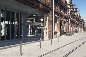 Carriageworks Rate Cards, exterior images